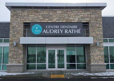 Centre dentaire Audrey Rathé – Enseigne