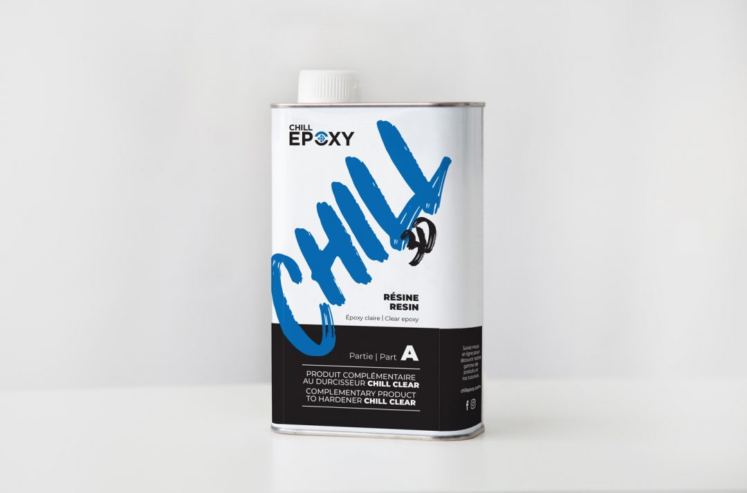 Étiquette Chill 3D – Chill Epoxy