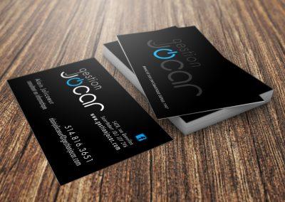 Gestion Jocar – Création de logo & carte d'affaires
