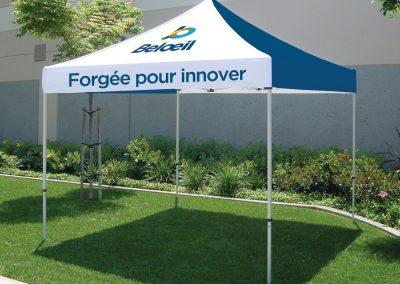 Tente promotionnelle – Ville de Beloeil