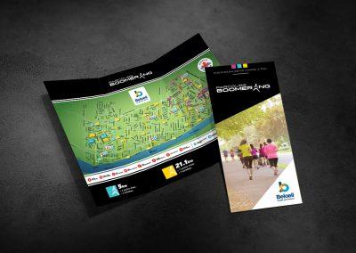 Ville de Beloeil – Dépliant, Parcours Boomerang